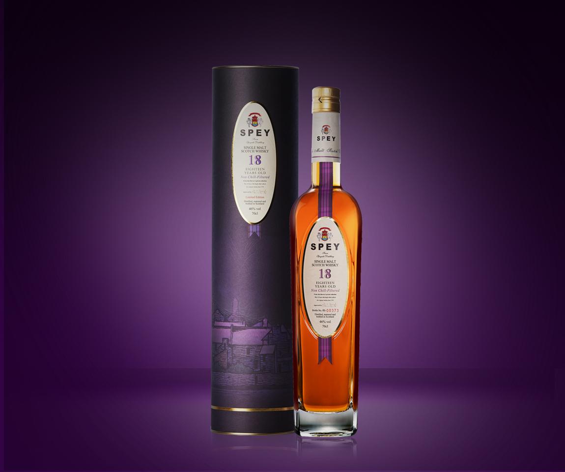 SPEY 詩貝18年單一麥芽威士忌