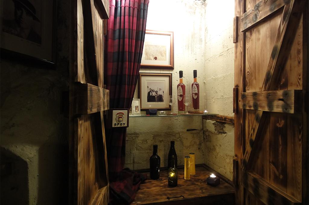 席漢廳私密酒窖
