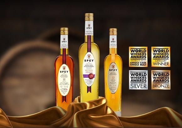 SPEY榮獲WWA世界最佳單桶威士忌殊榮